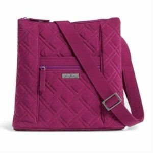 NEW Vera Bradley Microfiber Hipster Crossbody Bag